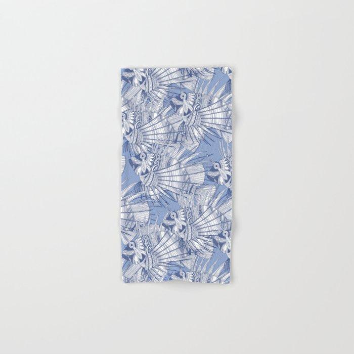 fish mirage blue Hand & Bath Towel