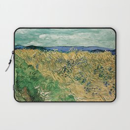 "Vincent Van Gogh ""Wheat Field With Cornflowers"" Laptop Sleeve"