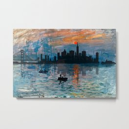 San Francisco Skyline 1 Metal Print