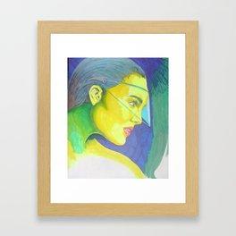 Color me highlighter Framed Art Print