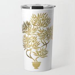 Bonsai Fruit Tree – Gold Palette Travel Mug
