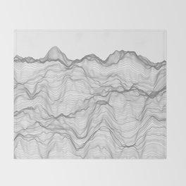 Soft Peaks Throw Blanket