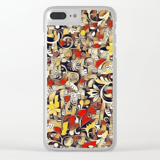 My Fantasy World 38 Clear iPhone Case