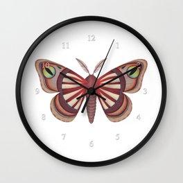 demon (made up moth) Wall Clock