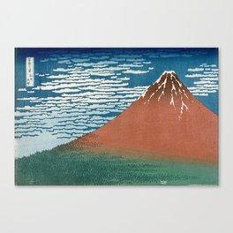 Fine Wind, Clear Weather (Gaifū kaisei) Canvas Print