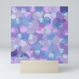 Pastel Pink and Blue Balls Mini Art Print