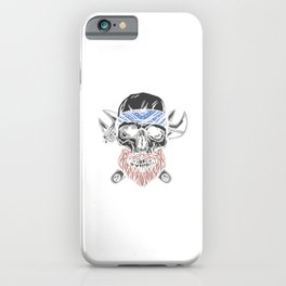 Mechanic Skull Halloweeen Design iPhone Case