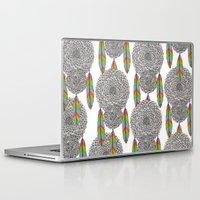 dream catcher Laptop & iPad Skins featuring Dream Catcher by Luna Portnoi