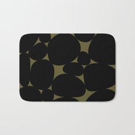 Stone Abstract - Earth Green Bath Mat