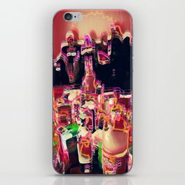 coctail party iPhone Skin
