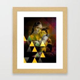 Yashoda's kanha Framed Art Print