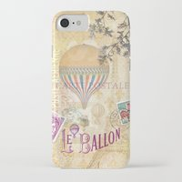 ballon iPhone & iPod Cases featuring Le Ballon by Hans Duenas