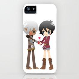 Dragon Age - Fenris and Hawke iPhone Case