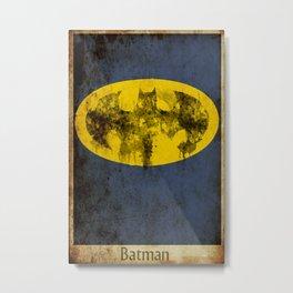 Bat Logo Metal Print