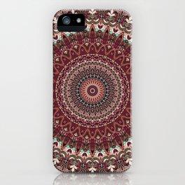 Mediterranean Boho Kaleidoscope iPhone Case