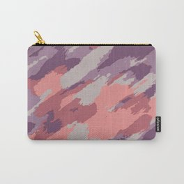purple pink and brown painting abstract background Carry-All Pouch