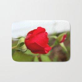 Raindrops on Roses Bath Mat
