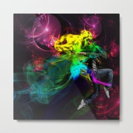 Street Dancer  Metal Print