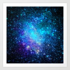 Magical Nebula Universe Art Print
