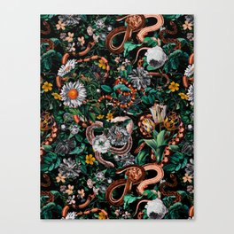 Dangers in the Forest V Canvas Print