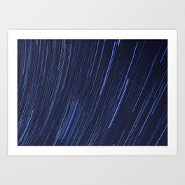 Star Trails Five Art Print