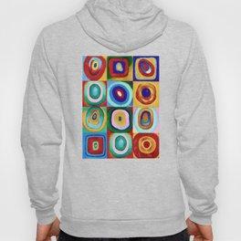 Colorful circles tile Hoody