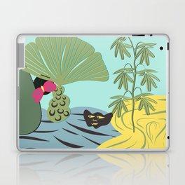 Mojo in the garden Laptop & iPad Skin