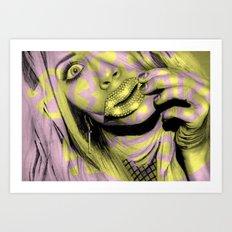 + All the Shine + Art Print