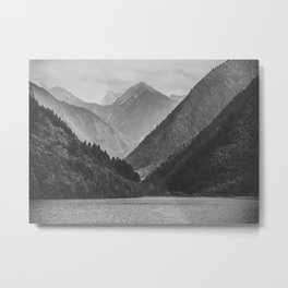 Wilderness landscape Metal Print