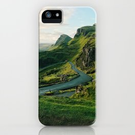 The Quiraing in Isle of Skye, Scotland iPhone Case