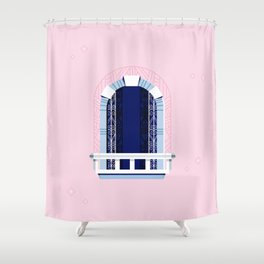 Window of Andalucia | 6 Shower Curtain