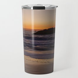 Marshalls Beach Sunset, San Francisco Travel Mug