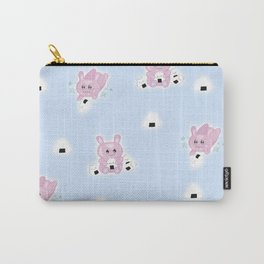 Rice Ball Bunny Carry-All Pouch