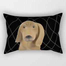 Bright Lights City Dog Rectangular Pillow