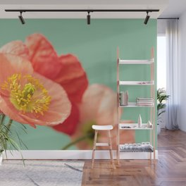 Pastel Poppy #1 Wall Mural