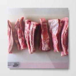 Meat Meat Meat  Metal Print