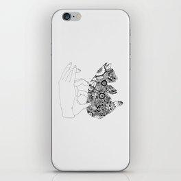 Y en la oscuridad también iPhone Skin