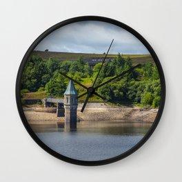 Pontsticill Reservoir August 2018 Wall Clock