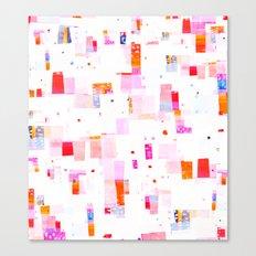 staccato Canvas Print