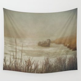 Life is a Shipwreck Wall Tapestry
