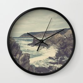 'Sea as far as you can see' Wall Clock