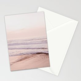 Dreamy Pink Pacific Beach Stationery Cards