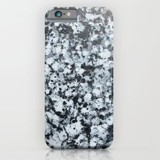 untitled (4456 bklack and white) Slim Case iPhone 6s