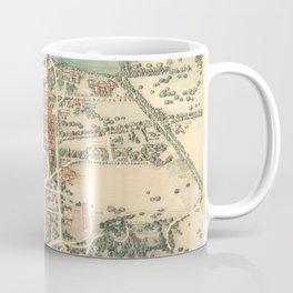 Vintage Pictorial Map of Stanford Coffee Mug