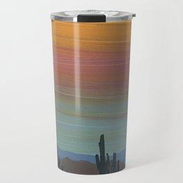 Arizona Moonrise Travel Mug