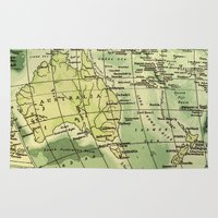 oz Area & Throw Rugs featuring Oz Land by strentse