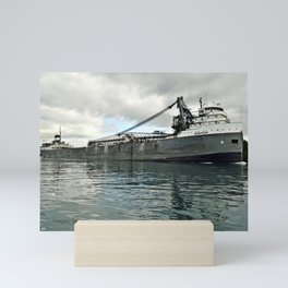 Saginaw Freighter Mini Art Print