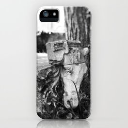 Through the gates & down the path to the horse's head iPhone Case