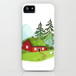Lodge iPhone Case