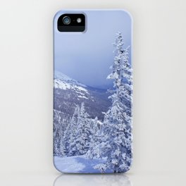 Winter day 27 iPhone Case